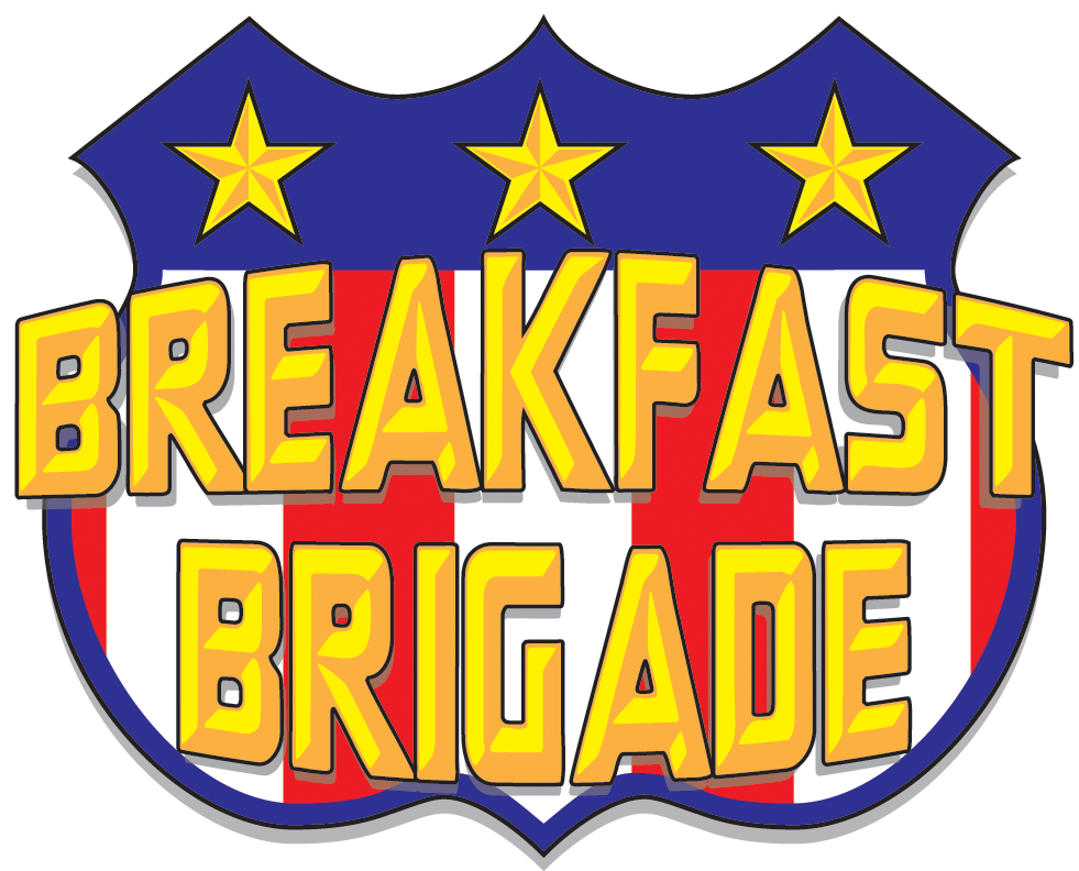 BreakFast brigade Shield Logo